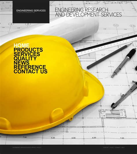 civil engineering website template 31014
