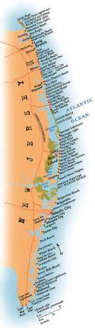 jersey shore map towns of the jersey shore maps on the web