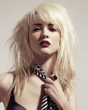 hairstyles for long hair rock chick rock chick hairstyles