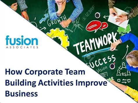 team fusion business card template how corporate team building activities improve business