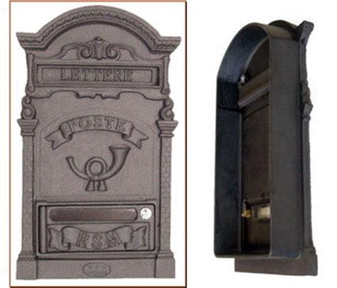 cassette postali antiche cassetta per lettere con corno posta con fondo aperto