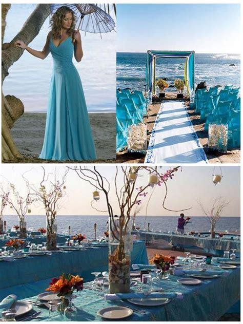 Beach Wedding Decoration Ideas Photograph   Turquoise decora