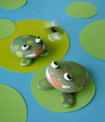 Pet Rock Frog inkspired musings it s to be green