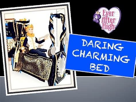 how to make your bed higher how to make an ever after high daring charming bed youtube