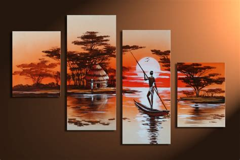 bilder handgemalt dreams m3 leinwandbild 4 teilig 120x80cm