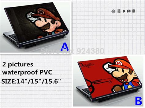 Garskin Laptop Stiker Laptop 14 Inch Sticker Laptop Mu aliexpress buy mario laptop skin