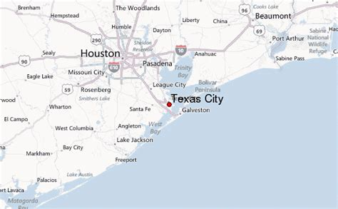 where is texas city tx on a map texas city location guide