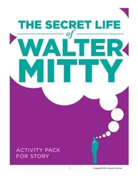 armchair psychologist the secret life of walter mitty activity pack for the story