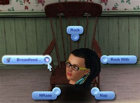 mod the sims the sims 3 patch downloader update to breastfeeding mod rocking chair interactions