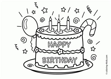 happy birthday coloring pages for mom coloring home