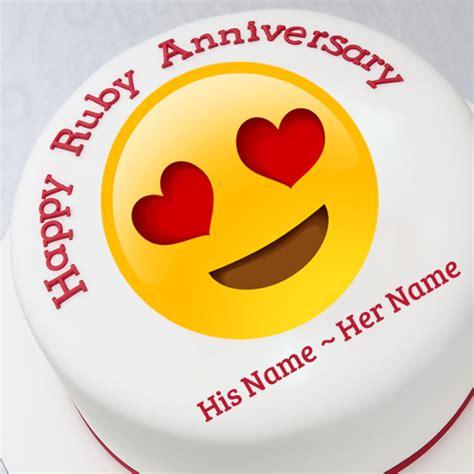 Wedding Wishes Emoji by Wish Happy Anniversary By Customized Anniversary Card
