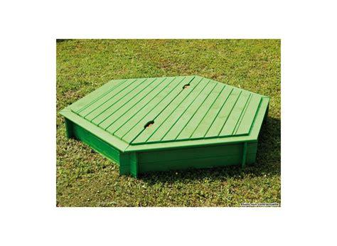 bac a en bac 224 en bois hexagonal jardipolys couvercle jardideco