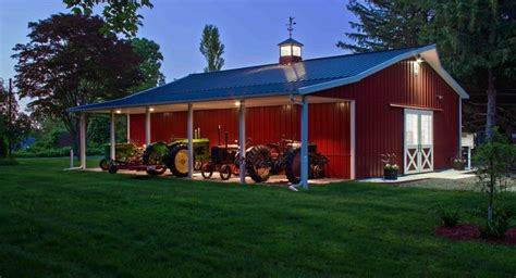not only is this a beautiful garage pole building but the picture cute pole barn with porch you may say i m a dreamer