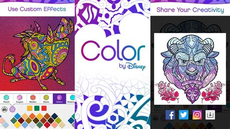 Color By Disney by Color By Disney