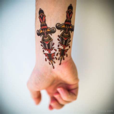 knife tattoo on wrist dagger tattoos tattoo designs tattoo pictures page 5