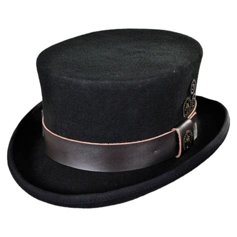 top hat time travel steunk top hat top hats