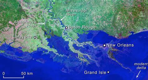 louisiana map climate change how louisiana s coastline has vanished the last
