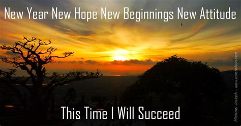 new year new hope new beginnings new attitude this time i