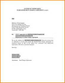 Financial Undertaking Letter Sle 6 Undertaking Letter For Payment Hr Cover Letter