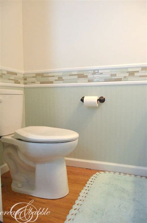 bathroom tile wainscoting tile wainscoting and powder rooms on pinterest