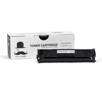 Baru Hp 131a Black Laserjet Toner Cartridge Model Cf210a hp 131a new compatible black toner cartridge cf210a moustache 174 123inkcartridges canada