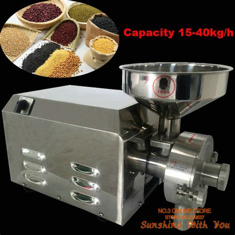 Ginding Cuanki Express 23 aliexpress buy high quality 220v commercial flour mill medicine pulverizer cereal grain