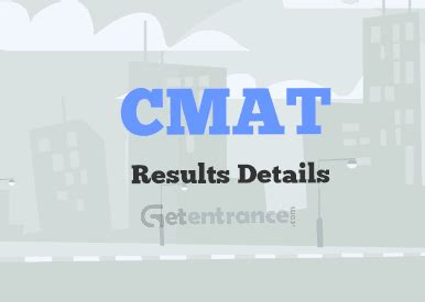 Cmat For Mba 2016 by Cmat 2017 Results And Score Card Getentrance