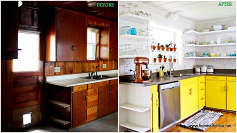 Kitchen Cabinets Repainted by Before Amp After Kitchen Makeover Projects To Inspire Your