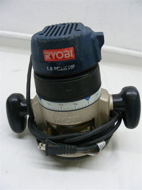 ryobi router rm  base rfb  peak hp ebay