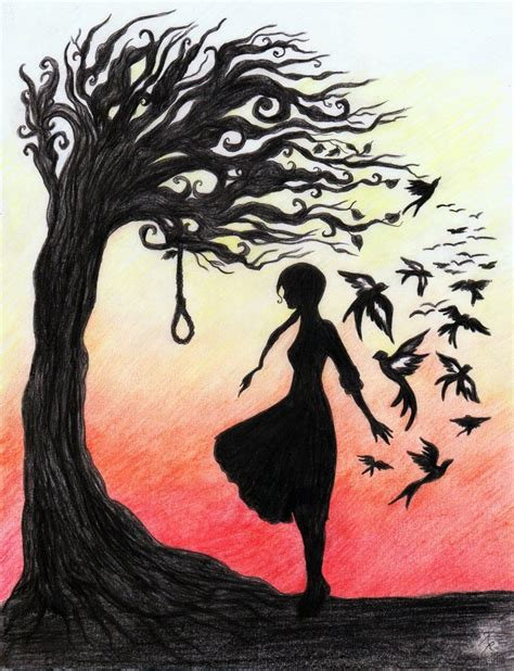 the hanging tree the hanging tree by la chapeliere folle on