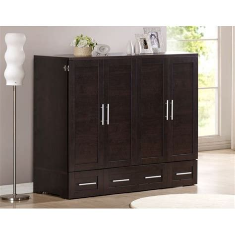 murphy chest bed murphy beds queen size and cabinets on pinterest