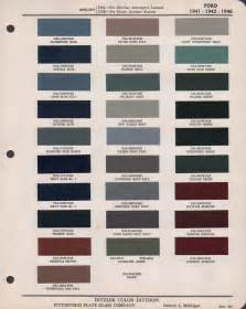 Ford Paint Colors 2016 Ford Exterior Color Chart Autos Post