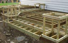 build wooden exterior steps gardens decking  porch