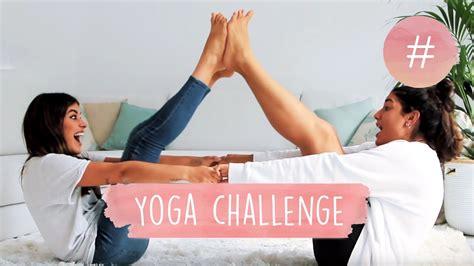 imagenes de yoga y vodka yoga challenge dulceida y alba youtube
