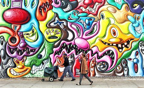 mapping  york citys  graffiti art