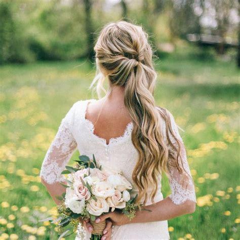 wedding hair tips  wearing  side ponytail