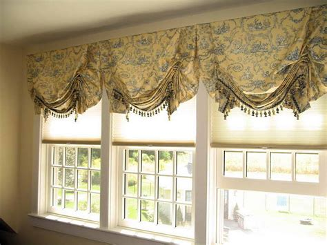 door windows custom window valance ideas window