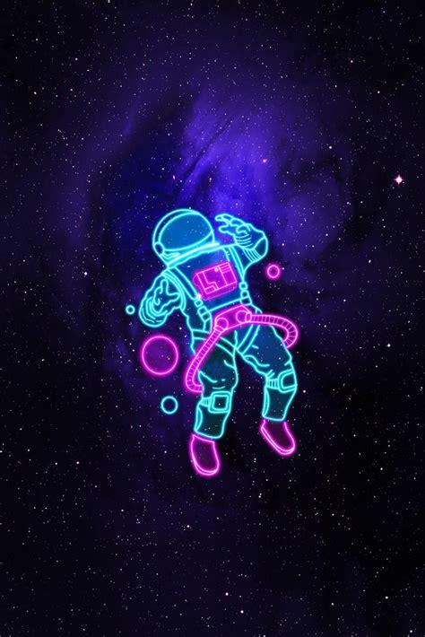 space astronaut art print  svhvisuals  small