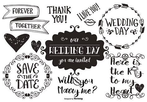 wedding doodle vector free wedding doodles free vector