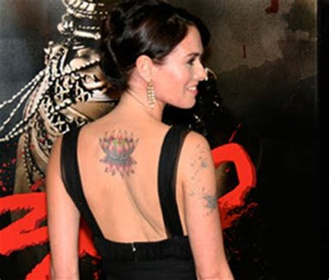 lena headey tattoo for designs photos lena headey