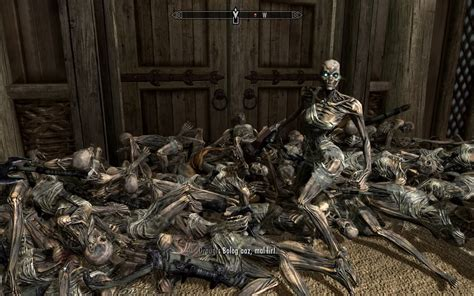 skyrim dead npc dead npc cleaner at skyrim nexus mods and community