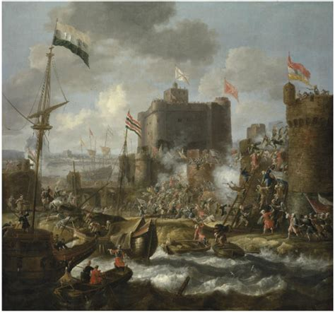siege fortress file jan peeters i ottoman forces attacking an island