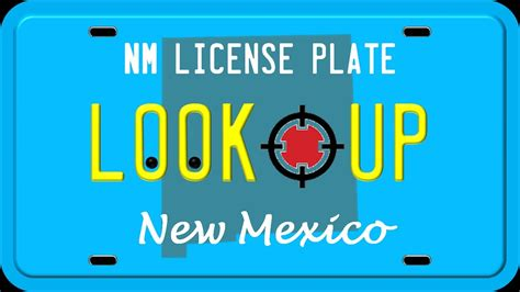 Lookup License Plate Number How To Search A New Mexico License Plate Number