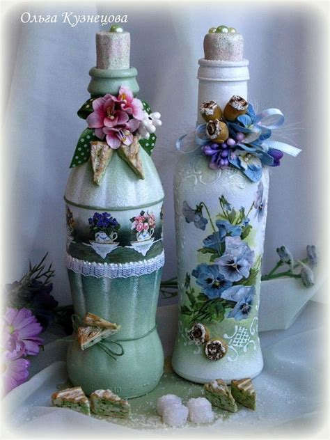 Decoupage On Plastic Containers - 164 best images about decoupage bottles on
