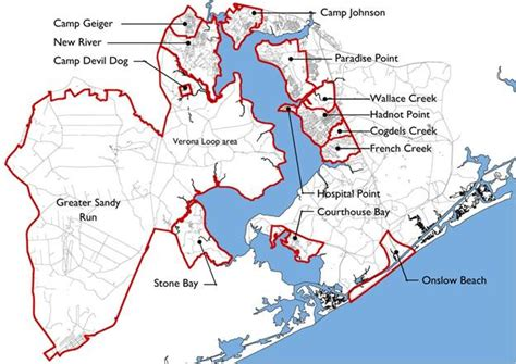 Superfund Map by Overview Of Camp Lejeune Water Contamination History