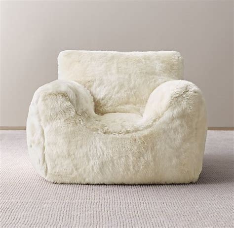 Faux Fur Bean Bag Chair by Faux Fur Bean Bag Chair Book Covers