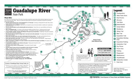 guadalupe river texas map equestrian trails