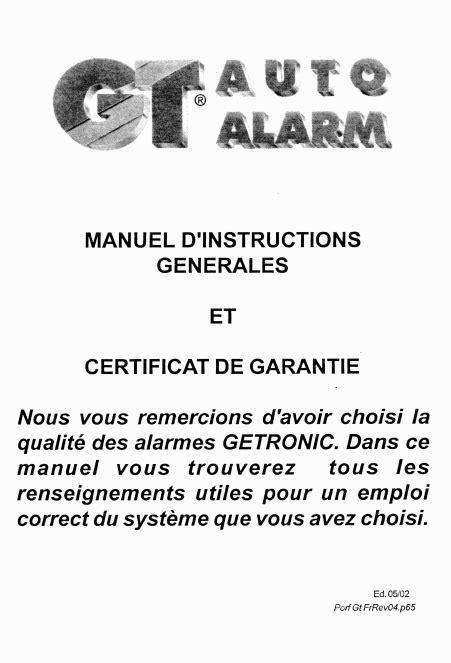 Alarm Gt 125 scaricare gt auto alarm gt 125 manuale di installazione