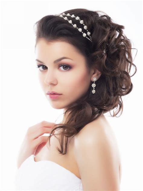 Wedding Hairstyles Brown Hair by Half Up And Half Bridal Hairstyles Hairstyles