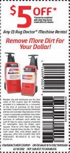 Rug Dr Rental Coupon Rug Doctor 5 Off Printable Coupon
